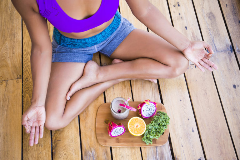Vegan diets and meditation together can give you a time out