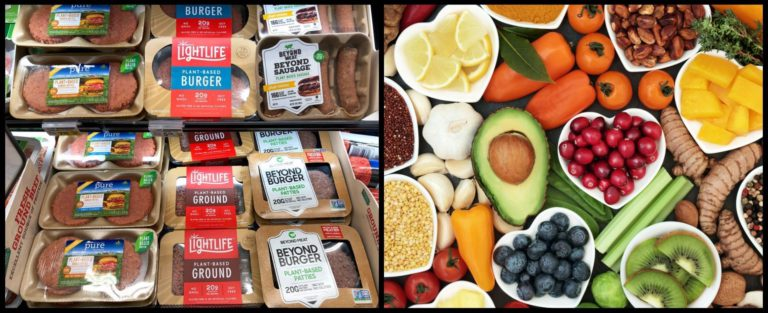 The differing vegan diet: plant-based meat vs whole foods